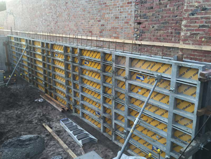 Chalmers Construction Doka Modular Formwork System